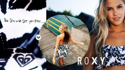 ROXY – THE SEA WILL SET YOU FREE